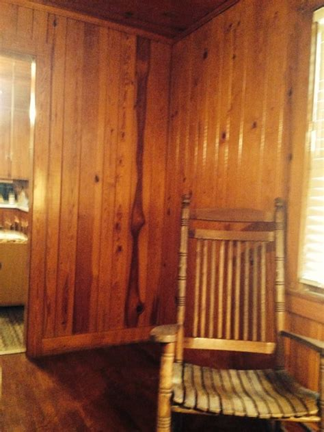 what trim color to paint knotty pine