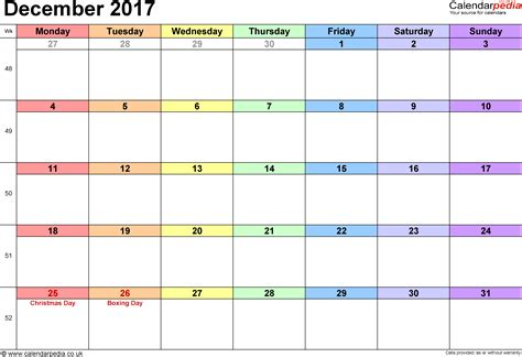 printable calendar i can add events december 2017 calendar printable with holidays monthly