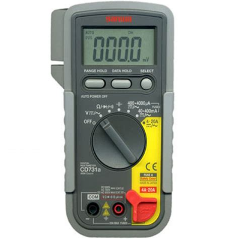 Multitester Sanwa Cd771 multimeter page 5 meter digital