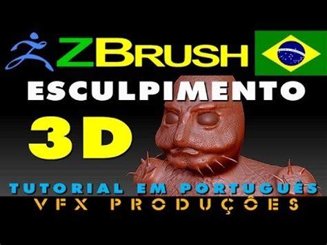 tutorial zbrush em portugues tutorial zbrush portugu 234 s esculpimento de personagem