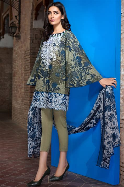latest dress style khaadi latest summer lawn dresses designs collection 2017 2018