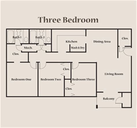 3 bedroom flat floor plan enchanting exterior laundry room
