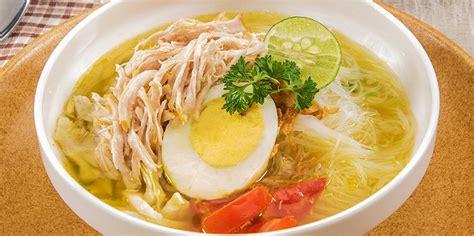 resep membuat soto ayam kuning 3 resep dan cara membuat soto ayam bening enak dan