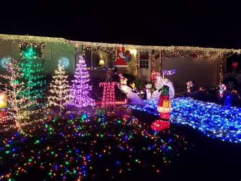 an interactive guide best christmas light displays in the