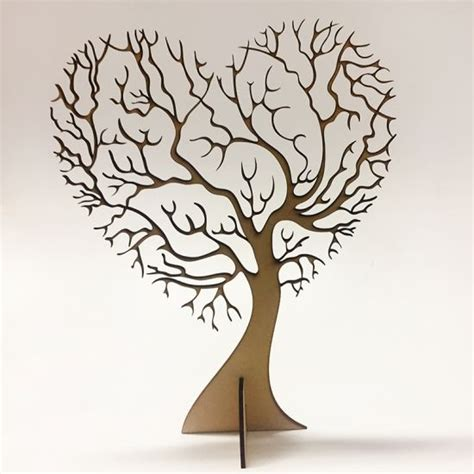 3d tree template free laser cut tree template 3d vector design