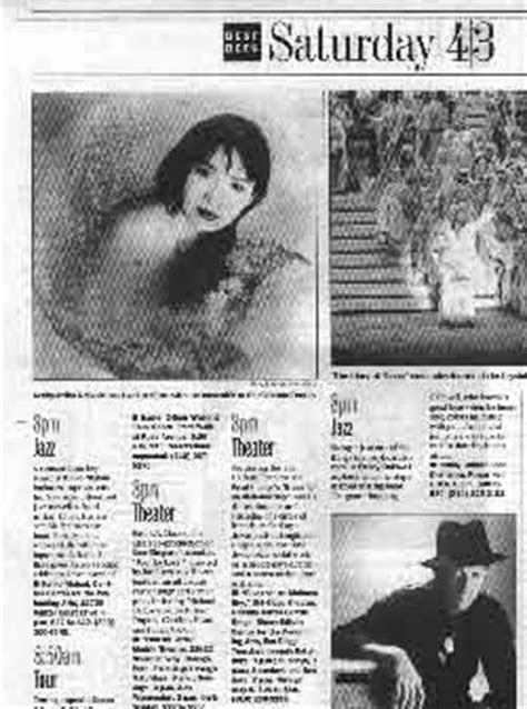 la times calendar section keiko matsui from newsstand 1999 archive
