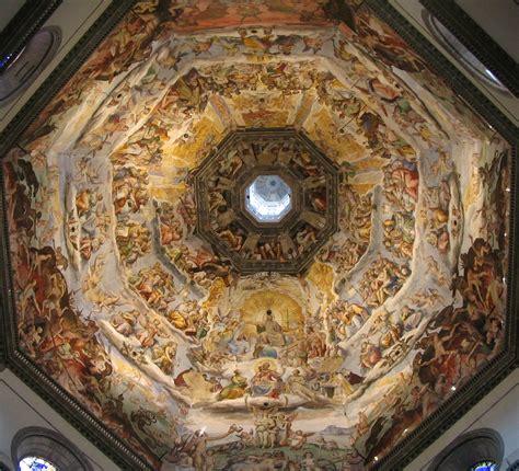 duomo florence dome ceiling fresco renaissance and architecture p serenbetz