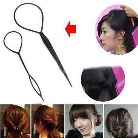 Hair Topsy Alat Sanggul Rambut alat styling sanggul rambut black jakartanotebook