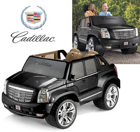 Cadillac Escalade Power Wheel by Put It The Tree Fisher Price Cadillac Escalade