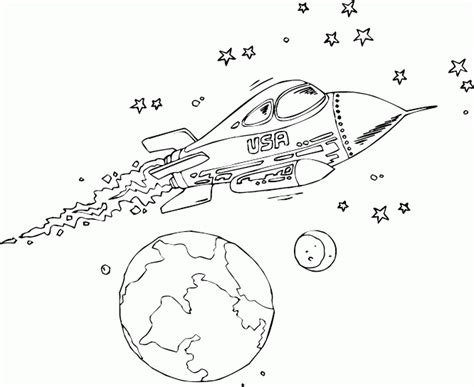 coloring pages rocket ship usa rocketship coloring page coloring