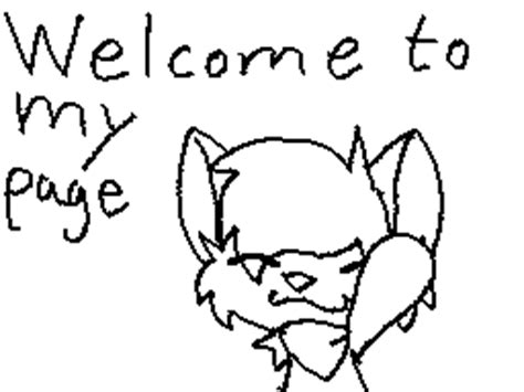 welcome to my page animation welcome to my page animation by sweirde on deviantart