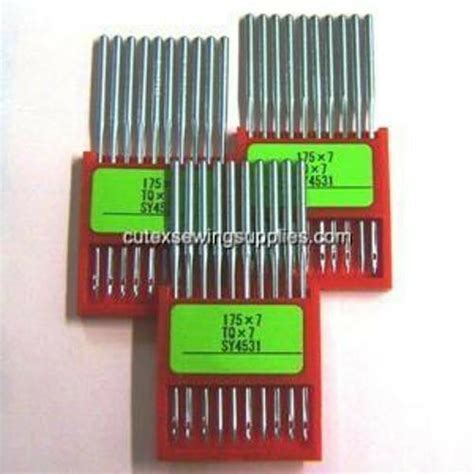 organ 175x7 tqx7 industrial button sewer sewing machine needles pack of 30 ebay