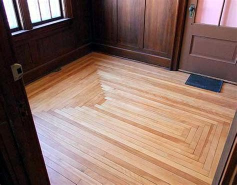 Square Wood Flooring by Square Pattern Wood Floors For The Home