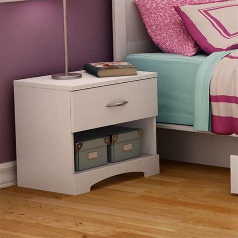 south shore maddox chest nightstand set white