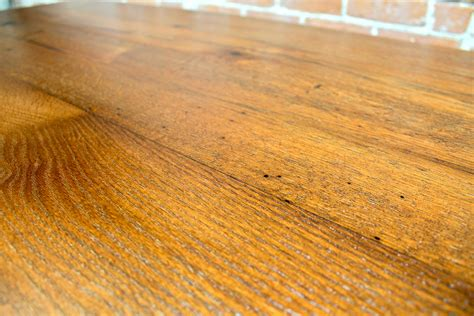 bar height oak trestle table ecustomfinishes