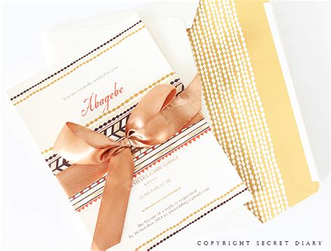 Invitation Letter In Zulu Wedding Invitations Wedding Stationery South Africa Secret Diary Traditional
