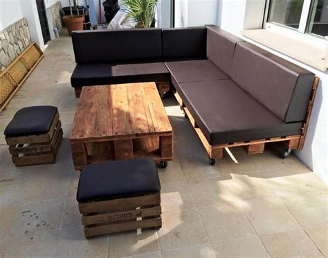 Pallet Outdoor Sofa by Diy Pallet Outdoor Sofa Ideas 99 Pallets