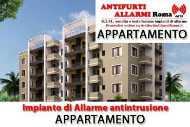 impianto di allarme casa installazione antifurti roma impianti di allarme