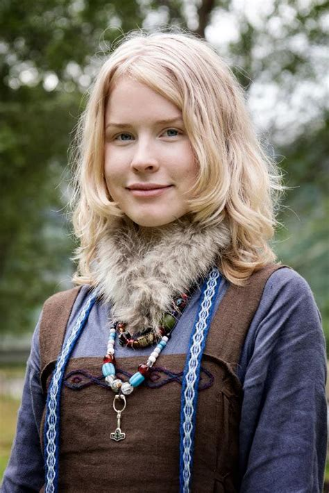 who is short blonde viking on vikings vikings viking woman and fur on pinterest