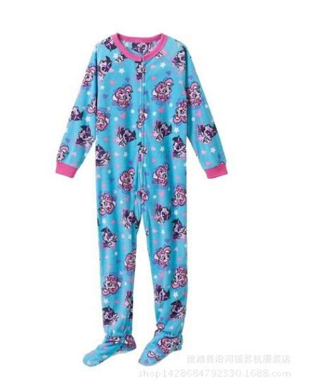 Sleeper Pajamas by 2015 Clothing Pony Sleeve One Fleece