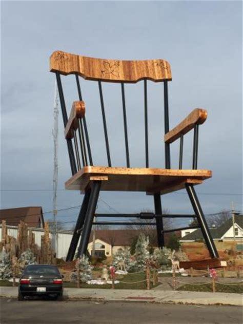 largest rocking chair world s largest rocking chair picture of world s largest
