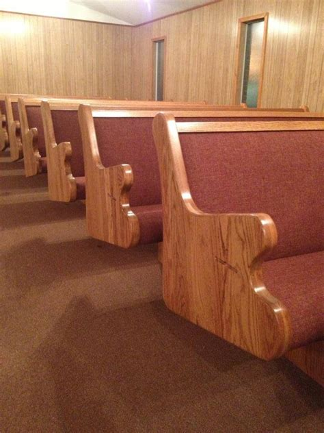 Upholstery Church Pews by Unique Church Furniture Needs Church Pews Church