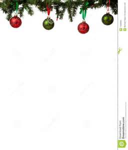 christmas ornament border stock images image 11665664