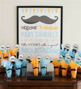 party reveal mustache baby shower bash project nursery