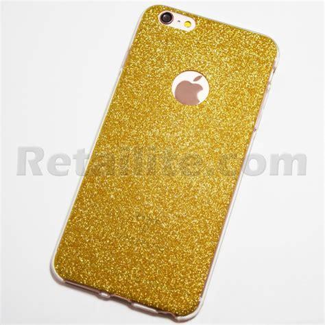 Padco Iphone 6 Plus 6s Plus Soft Shell Tpu Macaron Cover Casing Murah gold glittery iphone 6 plus iphone 6s plus soft retailite