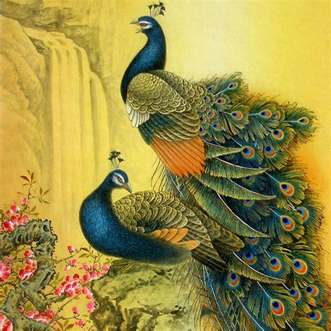 Peacock Decoration full peacock drawing