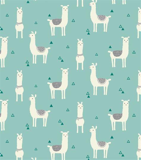 cute llama pattern snuggle flannel fabric tossed lama teal jo ann