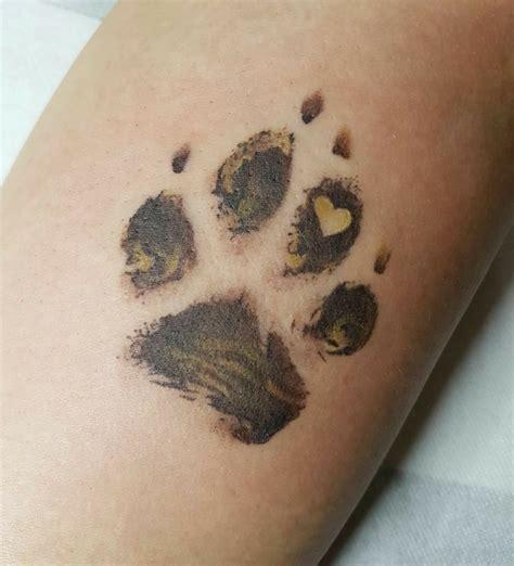 tattoo inspiration dog best 25 paw tattoos ideas on pinterest dog tattoos paw