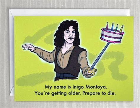 Birthday Princess Meme - diy sparkle happy birthday boxes set of six inigo montoya and funny comics