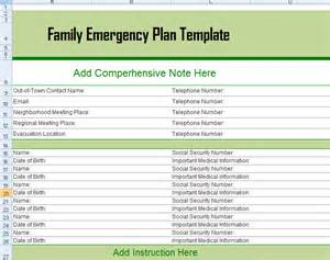 family emergency plan template monthly budget excel template microsoft excel