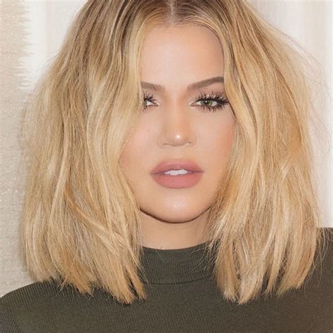 how to get khloe kardashian hair 7 ways to style your bob brought to you by khlo 233 kardashian
