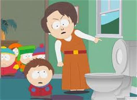 south park mom bathroom clyde donovan images clyde left the toilet seat up again