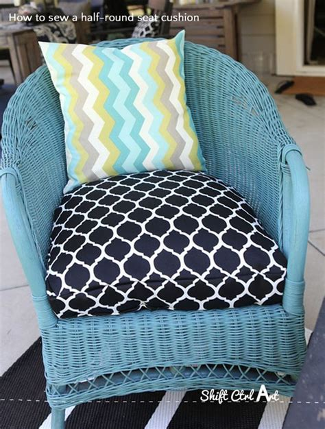 sewing cushions for outdoor furniture how to sew a half seat cushion cover for my