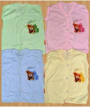 12pcs Baju Bayi Kutung New Born baju bayi dan anak baju atasan untuk bayi