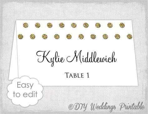 table card template wedding 5302 best 25 free place card template ideas on diy