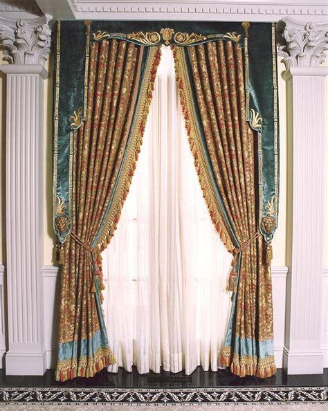 renaissance curtains durring the renaissance period tassles and gold fabrics