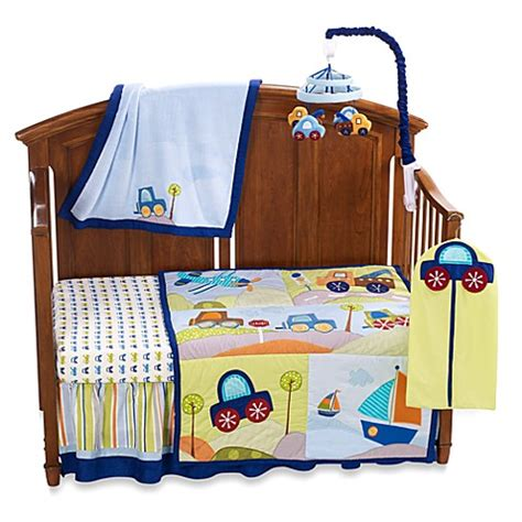 lambs and ivy crib bedding lambs ivy 174 little travelers 7 piece crib bedding set and