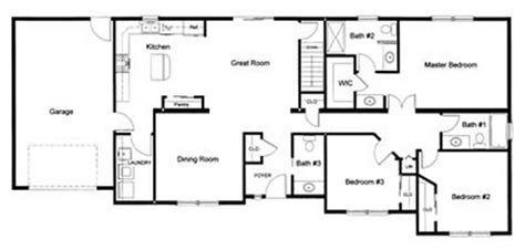 3 bedroom 2 bath open floor plans 3 bedroom floor plans monmouth county ocean county new