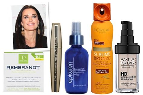 Kyle Richards Skin Routine | kyle richards real housewives of beverly hills beauty
