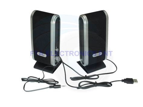 Laptop Multimedia computer portable stereo multimedia speakers for pc laptop