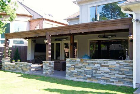pergola outdoor kitchen custom decks pergolas houston dallas katy texas