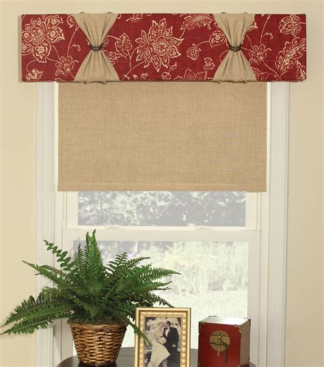 Cornice Window Treatments june tailor easy cornice no sew window treatment kit at joann