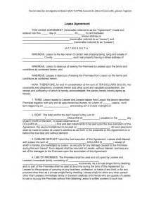 editable lease agreement template professional blank lease agreement template sle with