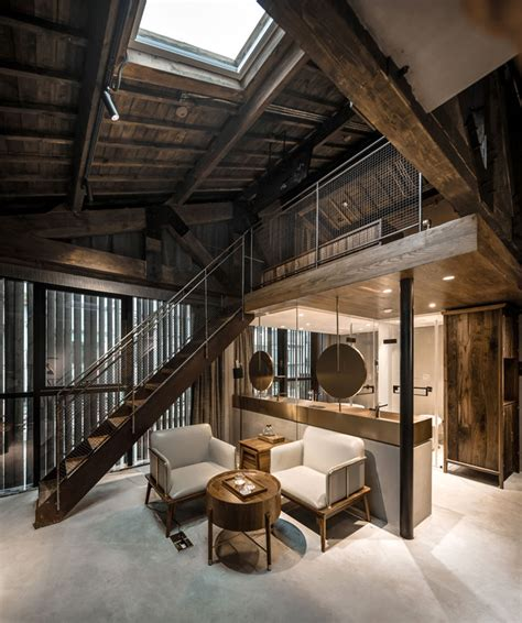hotel  modern design  traditional elements