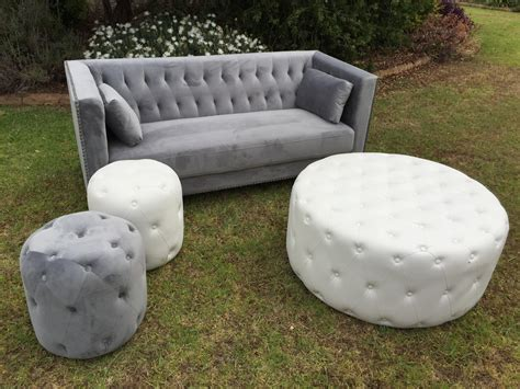 white round tufted ottoman white tufted large round ottoman 4 seats rocket events