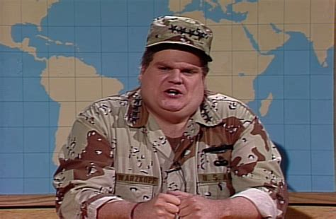 General H Norman Schwarzkopf Essay by The Time Chris Farley Became General Norman Schwarzkopf For America The Sitrep